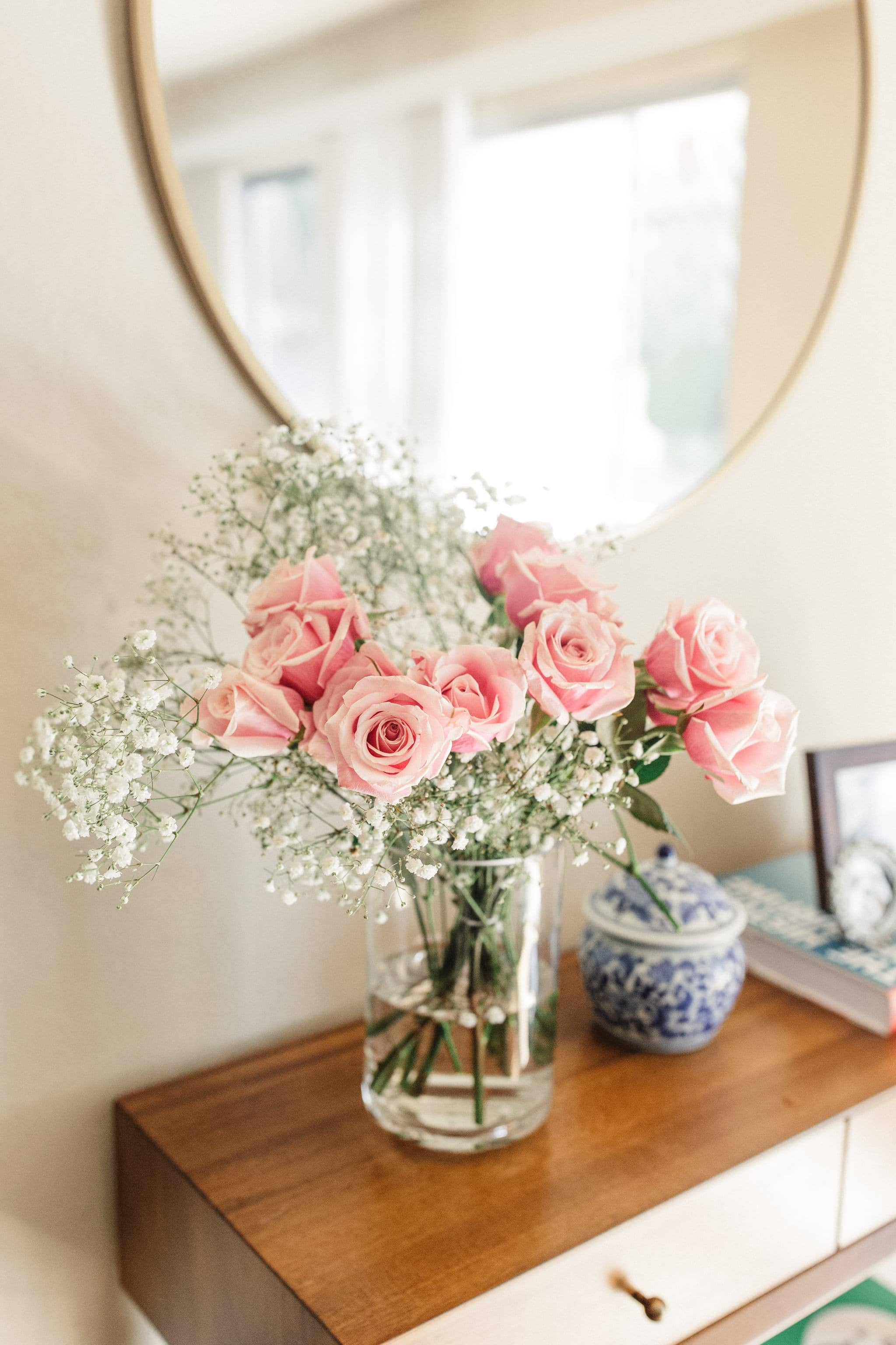 Mother's Day Flowers in vase