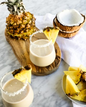 clear skin smoothie pineapple coconut