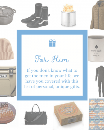 Men's Gift Guide for Him - The Heirloom Pantry